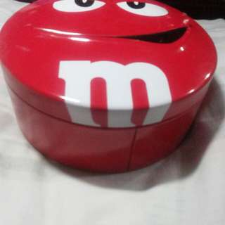 M&M's Chocolate Tin Can
