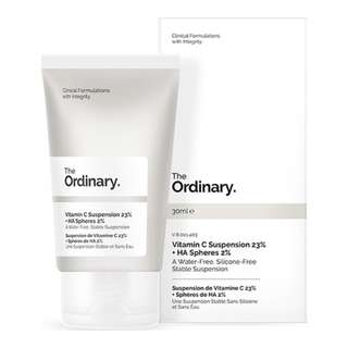 💖 The Ordinary Vitamin C 23% + HA Spheres 2% 💖