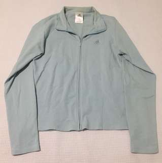 Adidas Light Blue Jacket/Cardigan