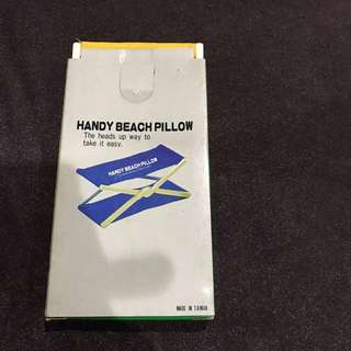 Brand new handy beach pillow