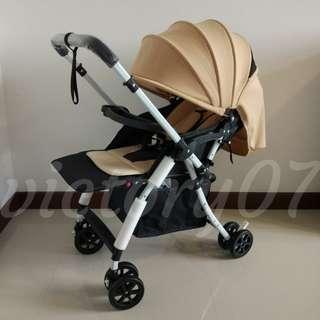 BN Lightweight Baby Stroller in Sand