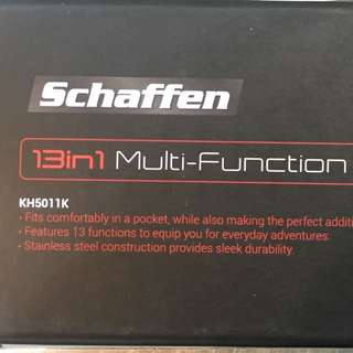 Schaffen 13in1 Multi-Function Knife