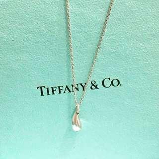 Tiffany & Co 40cm Teardrop Necklace Limited Edition