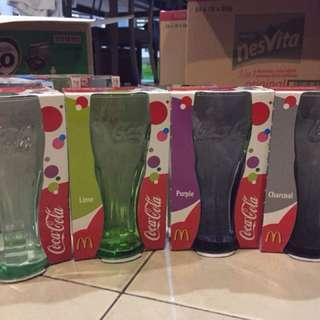 McDonald's collectible glasses