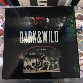 BTS Dark and Wild (preloved) - BTS photocard