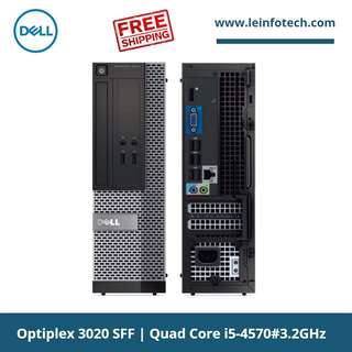 Dell Optiplex Business PC 3020 SFF Desktop Quad Core i5-4570#3.2GHz 16GB DDR3 500GB HDD Win 10 Pro