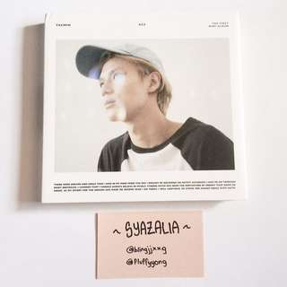 SHINee Taemin Ace album