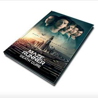 THE DEATH CURE: HARDCOVER NOTEBOOK
