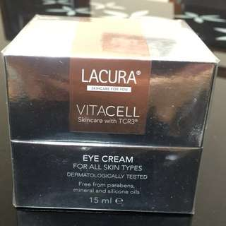 Lacura eye cream