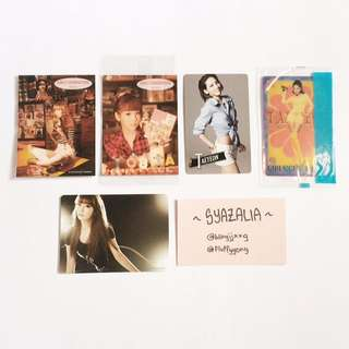 SNSD Official RARE photocards