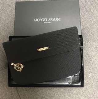 giorgio armani perfume pouch