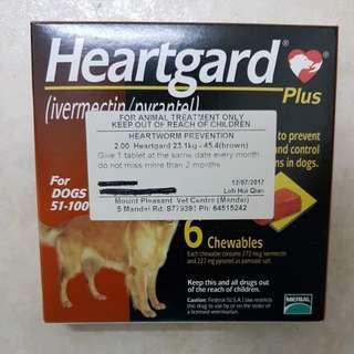 Heartguard plus (23.1kg - 45.5kg)
