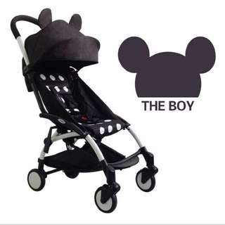 Mickey Mouse Stroller (Lightweigh & Foldable Cabin Size)