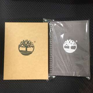 Timberland 限量筆記本 2018
