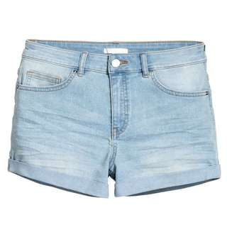 H&M Light Denim Shorts
