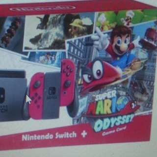 Brandnew Nintendo Switch + Bundled Mario