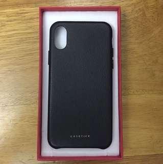 iPhoneX Iphone case genuine leather Casetify