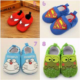 CNY Cute Cartoon Soft Baby Shoes 1-2 Years Old