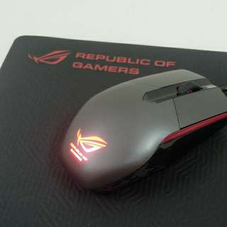 Republic of gamers 電競滑鼠 optical gaming mouse
