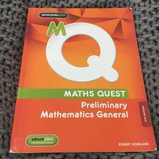 Jacaranda Maths Quest Preliminarily Mathematics General