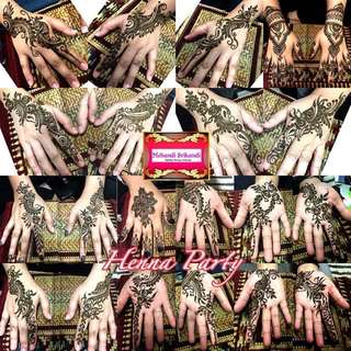 Henna Party Services