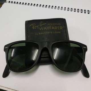 3e9c7db6420 Ray ban B L usa wayfarer folding II rayban