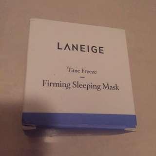Brand new Laneige firming sleeping mask
