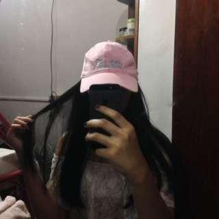 jack wolfskin pink cap