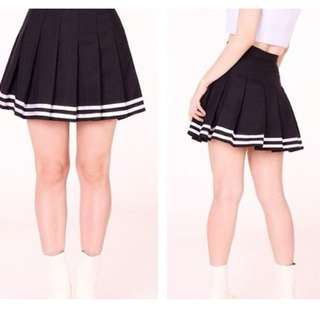 JAPANESE BLACK SKIRT