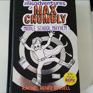 Brand New the misadventures of Max Crumbly