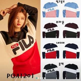 韓國FILA衛衣