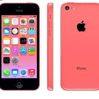 iPhone 5c red