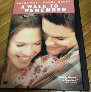 DVD A Walk to Remember