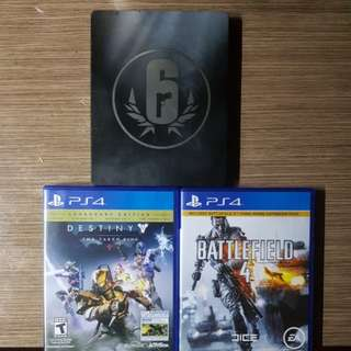 PS4 Games (Trade or Buy)