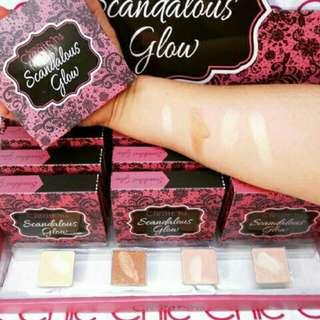 SBY - Beauty Creation Scandalous Glow highlight pallete