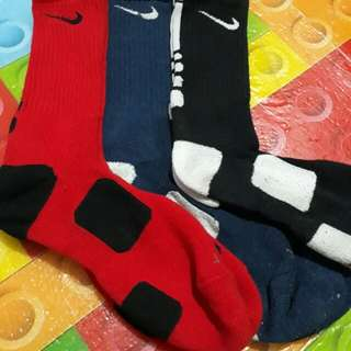 Nike Elite Socks All Size Large (Used) as pack.