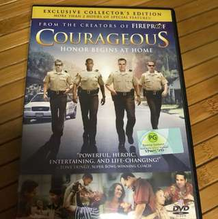 DVD Courageous - Honor Begins at Home