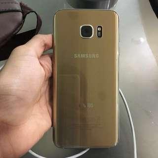 Samsung S7 Edge Gold Plantinum 32GB SME