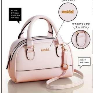 日本sweet雜誌 snidel 兩用 波士頓包 托特包 單肩包 斜垮包 手袋 手拎包