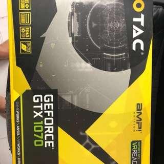 Zotac GTX1070 8GB Amp edition