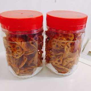 CNY Cookies truffle lotus chip