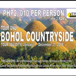 Bohol country side tour