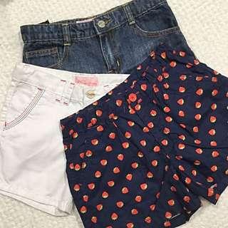 Bossini Snoopy Girls Shorts set - size 14