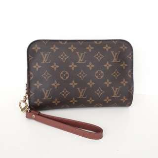 Louis Vuitton Orsay monogram clutch