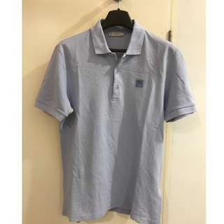 Versace Collection-Light Blue Polo Tee-M size