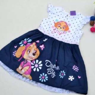 Instock now!! Authentic Paw Patrol Dress Brand New Gd Quality size 3-5yrs and 6-7yrs old