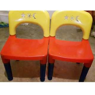 Portable Children Chair  - qty x2