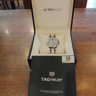 New Authentic Tag Heuer Formula 1 Ladies Watch White Ceramic