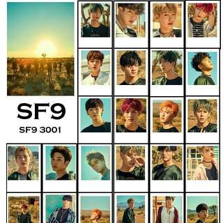 SF9 Lomocards