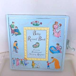 Precious Moment Baby Record Book